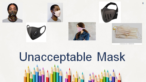 Unacceptable Face Mask