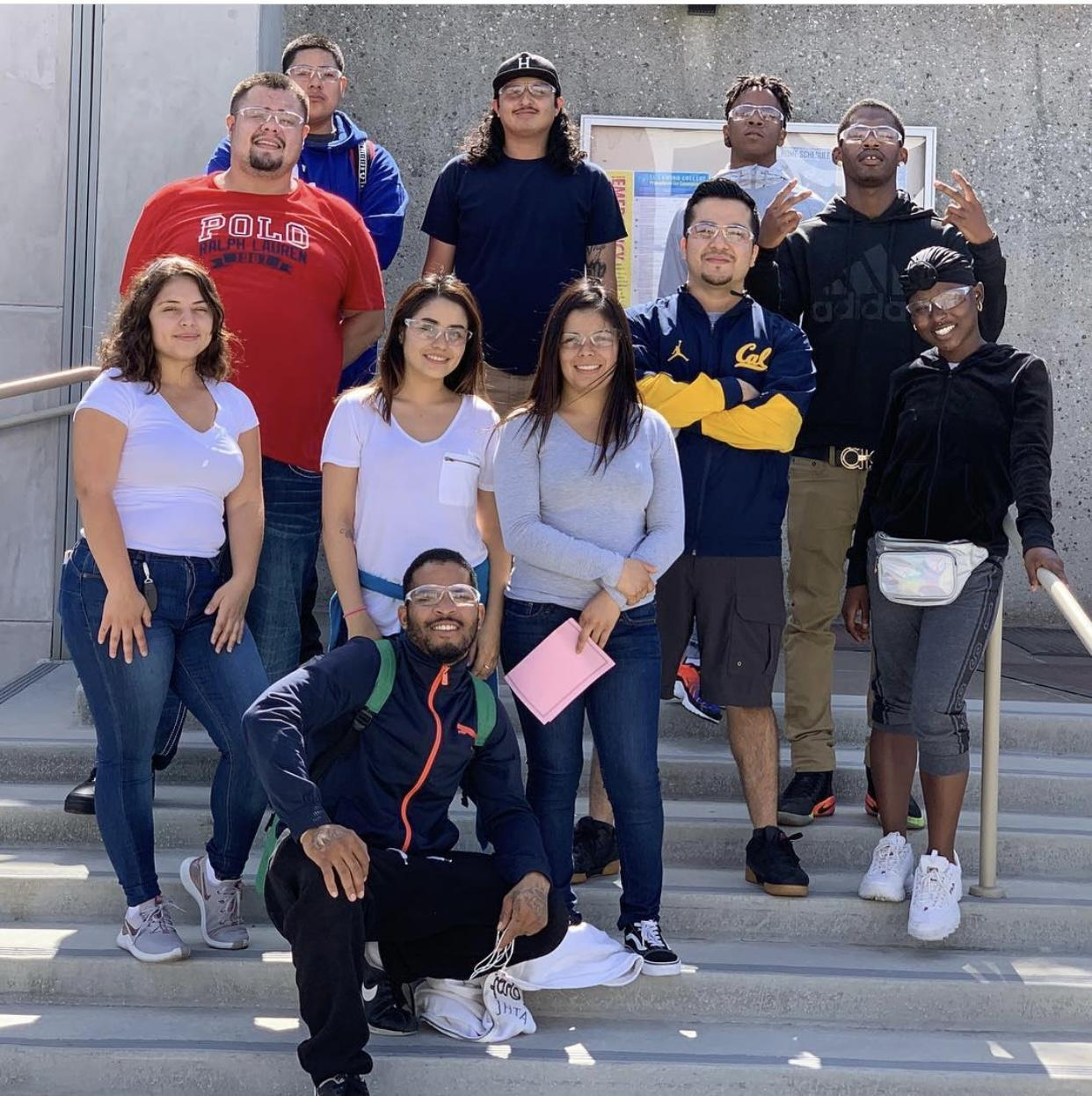 Avalon students on a college visit