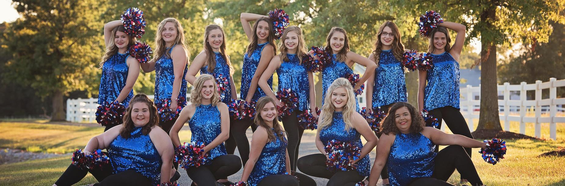 2019-2020 Carlinville High School Cavalettes