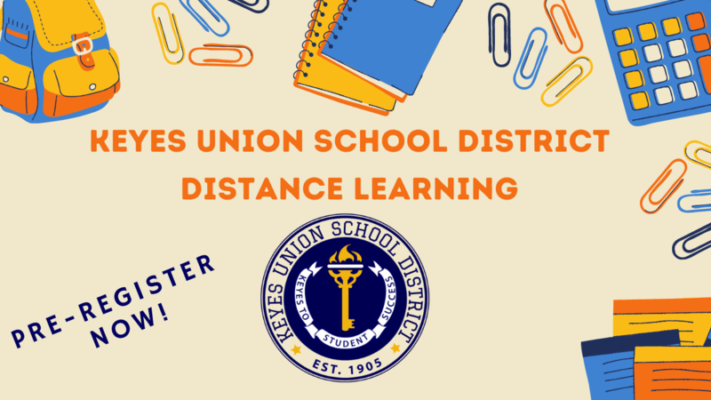 Pre-register for Distance Learning Featured Photo