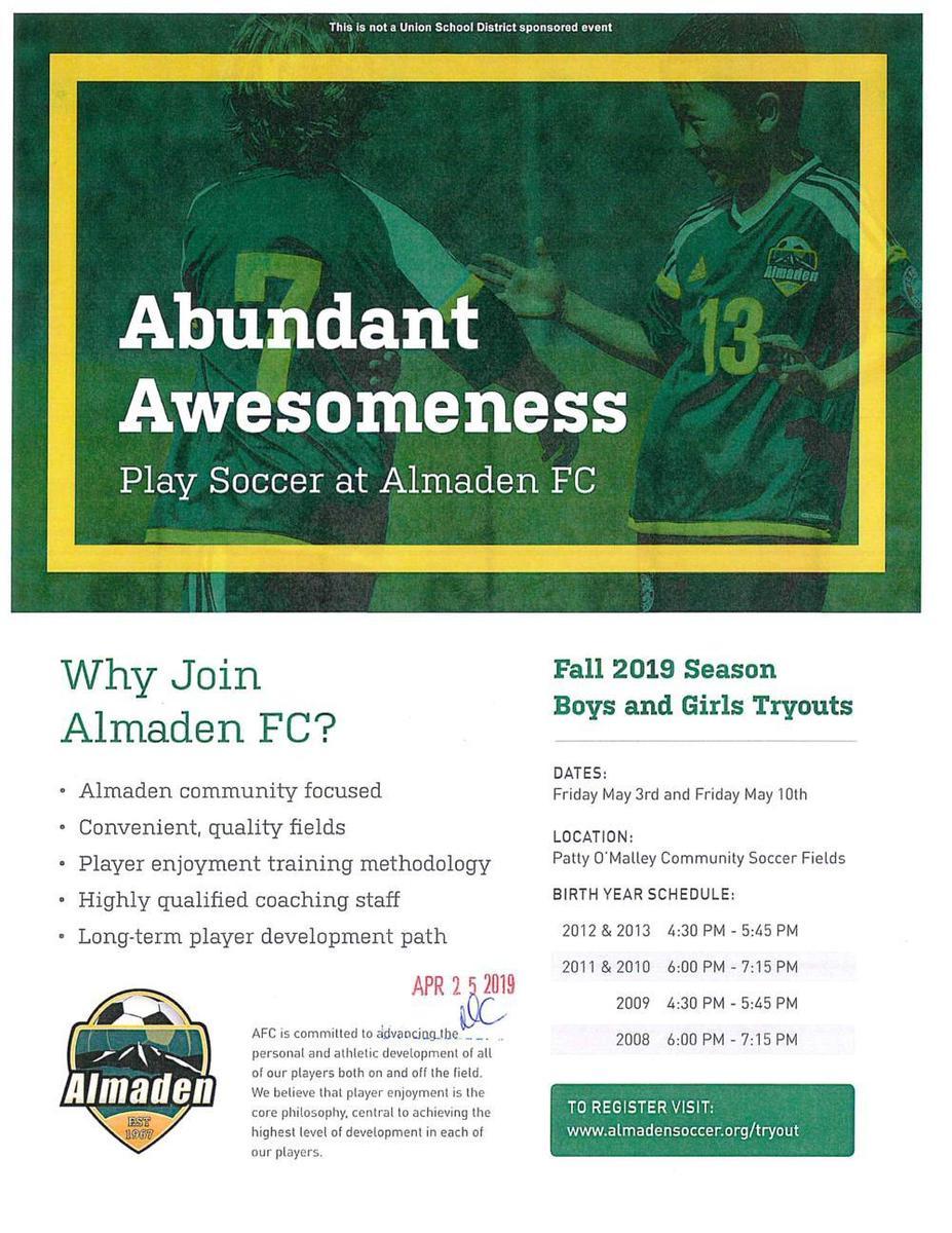 Almaden Soccer