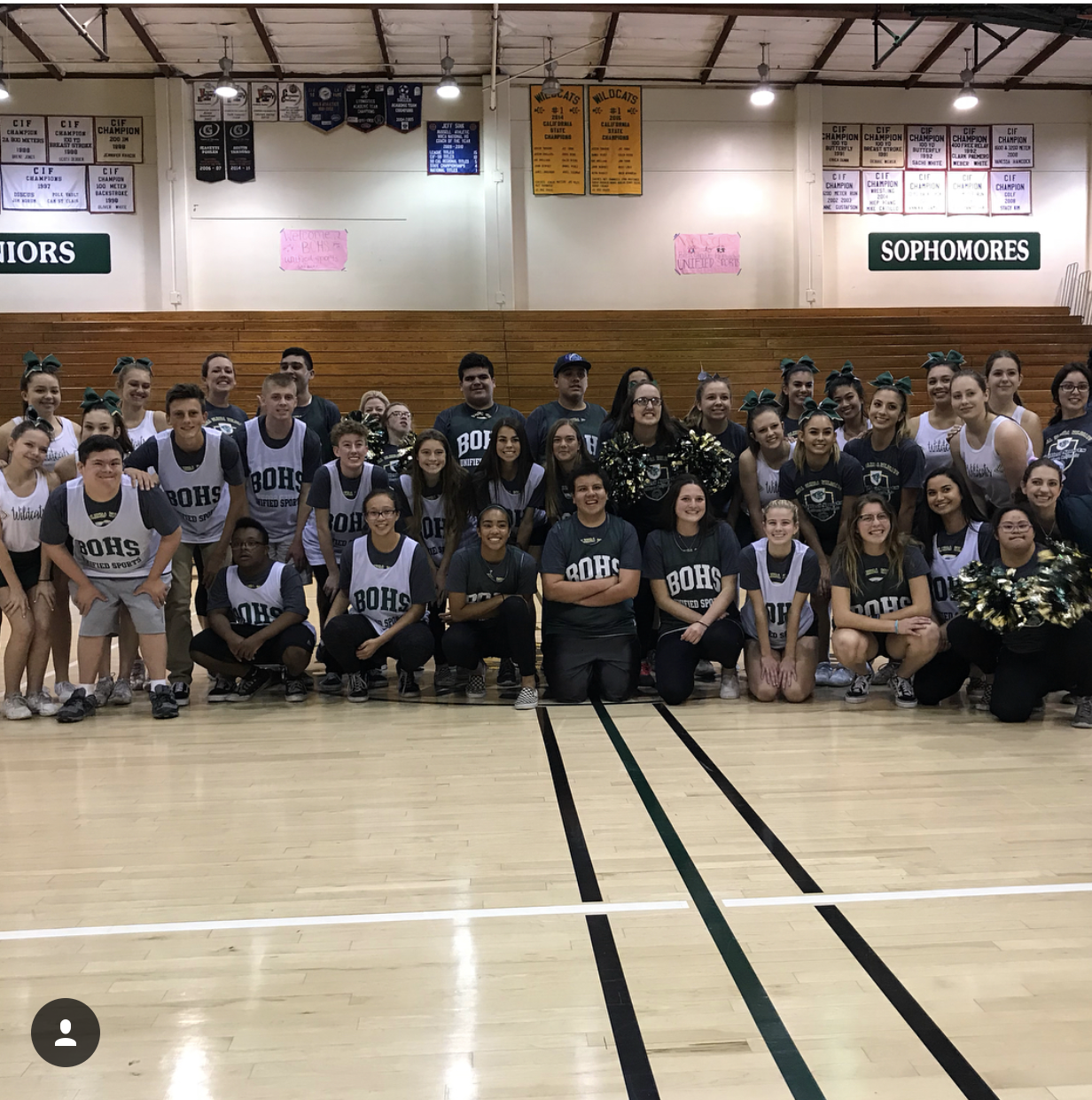 BOHS Unified Sports Game 2018