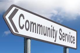 community service logo