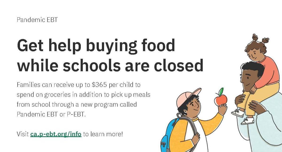 Get help buying food flyer