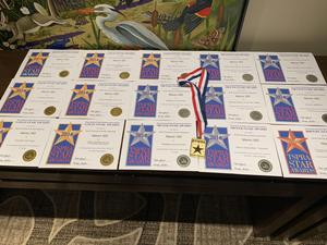 All 16 TSPRA awards for Manor ISD