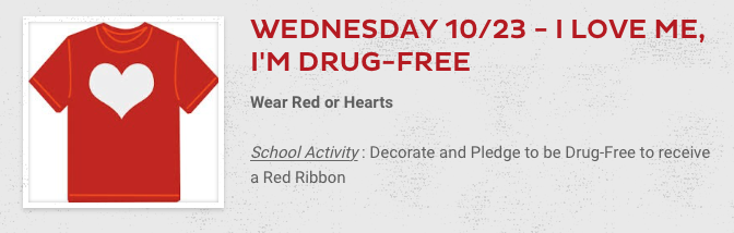 10/23 - I Love Me, I'm Drug-Free Featured Photo