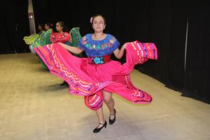 Mexican dancer performing at Cultural Unity Fair