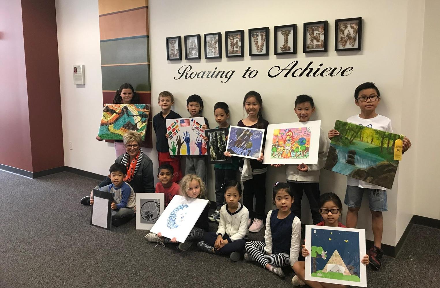 Reflection Art Winners 2017