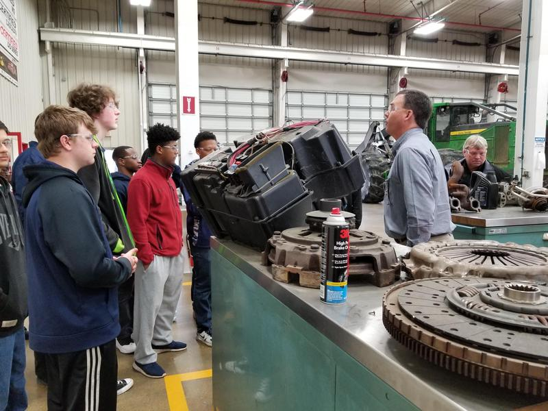 Automotive Technology Students visited Empire Trucks and Stribling Equipment Thumbnail Image