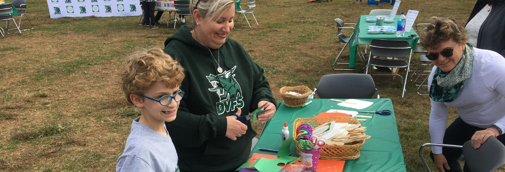 Families Association volunteer