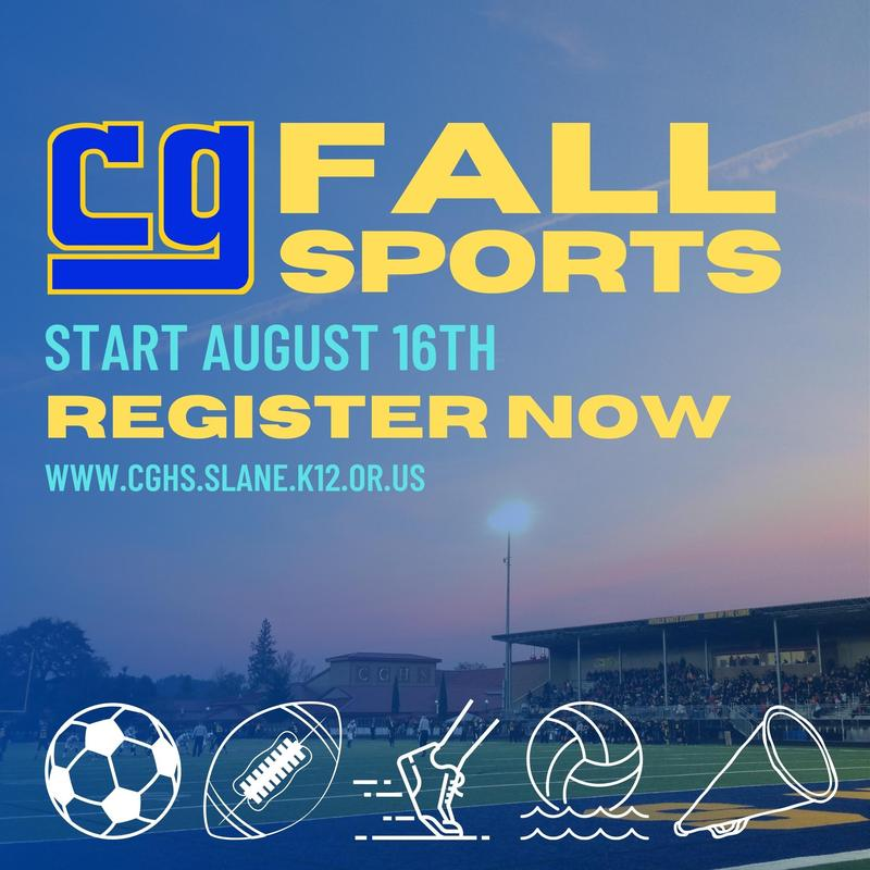 Fall Sports Registration and Information Featured Photo