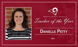 Danielle Petty 2021 Teacher of the Year