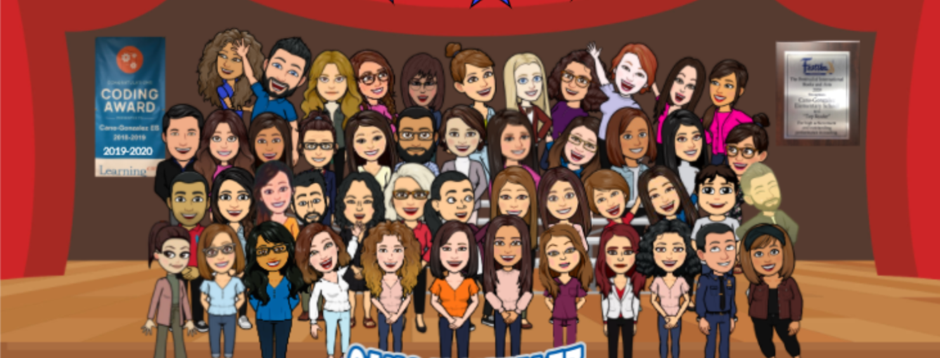 CanoGonzalez Bitmoji Staff Photo