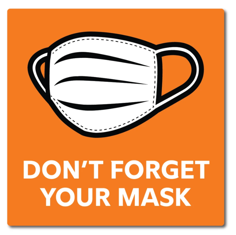 Wear your mask!