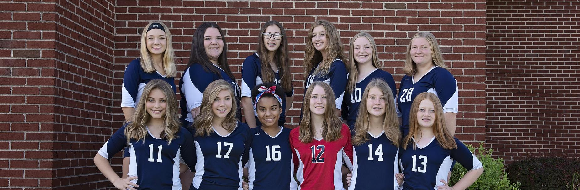 2019-2020 Carlinville High School Freshman Volleyball Team