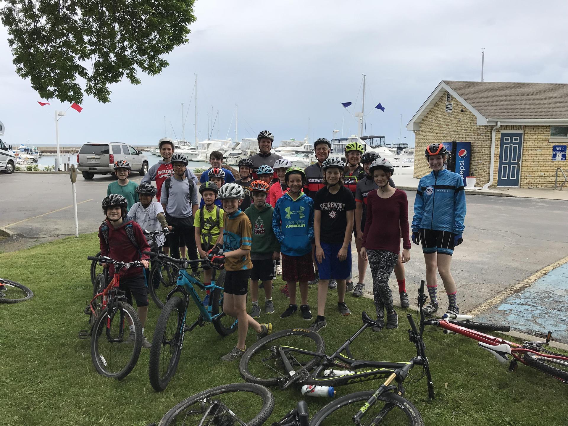 Mt. Biking Team