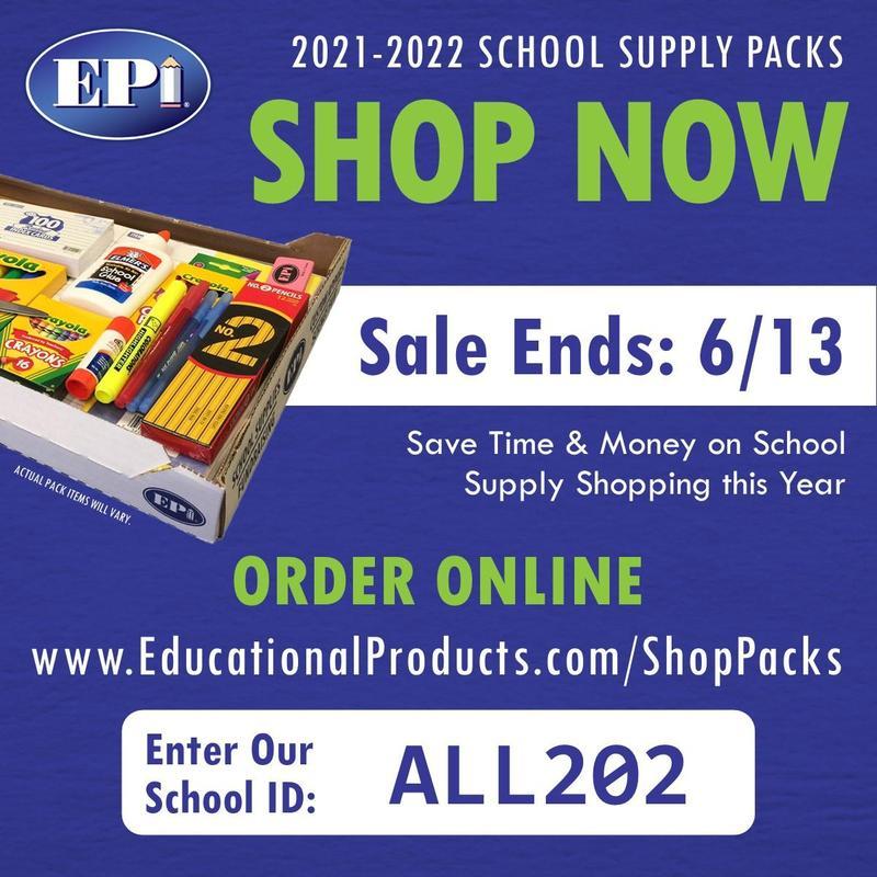 2021-2022 Supply Pack Information Thumbnail Image