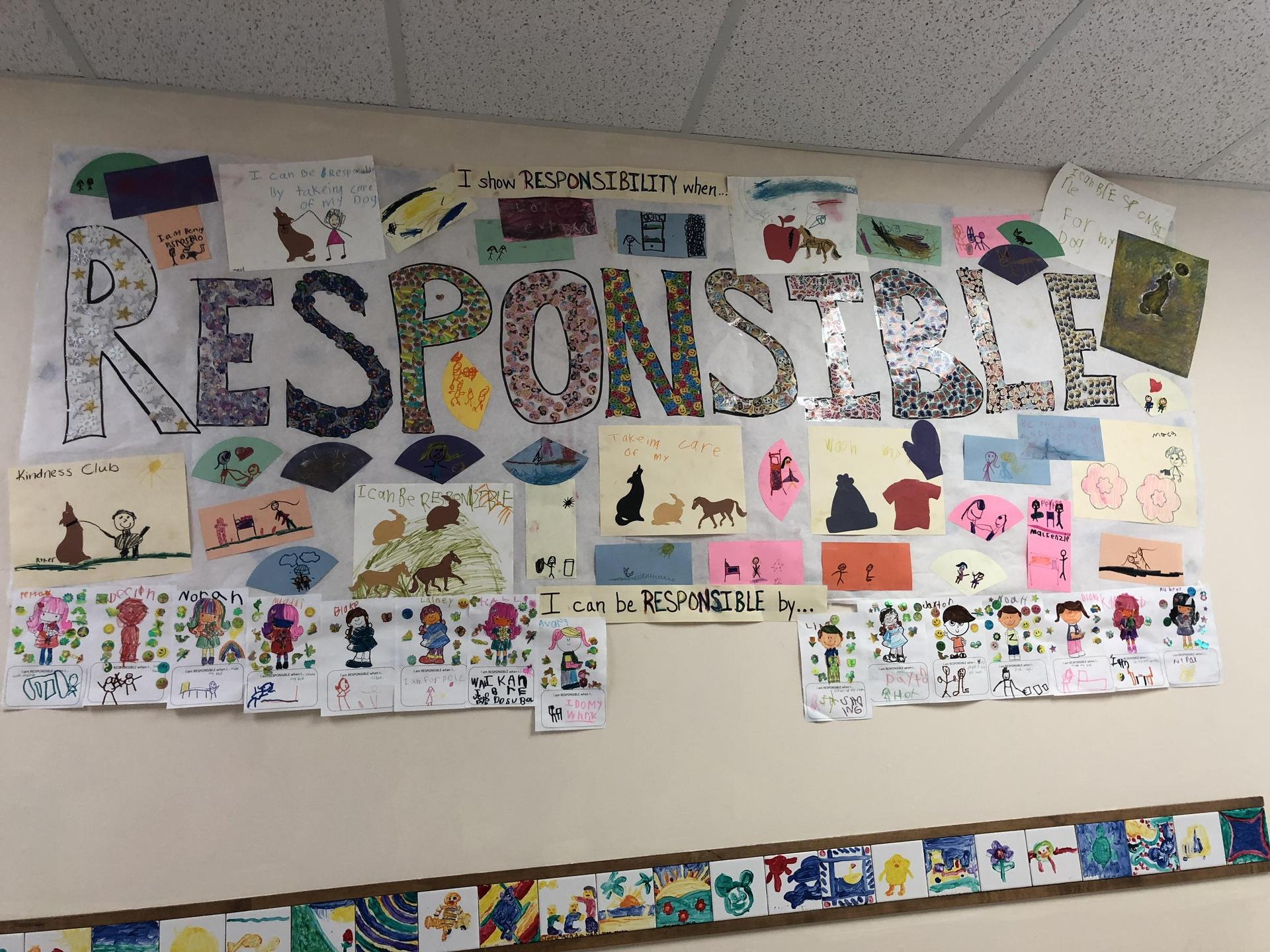Life Skill poster of Responsibility