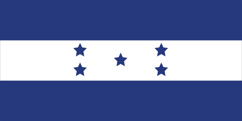 Honduras' flag