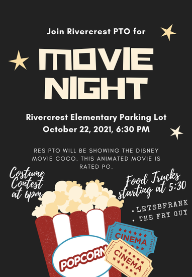 RES PTO Movie Night October 22 Featured Photo