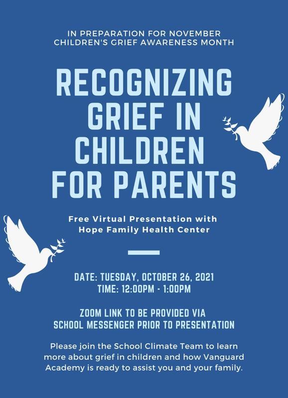 November: Children Grief Awareness Month/Noviembre: Mes de Concientización sobre el Duelo de los Niños Featured Photo