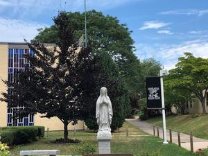 Xavier courtyard