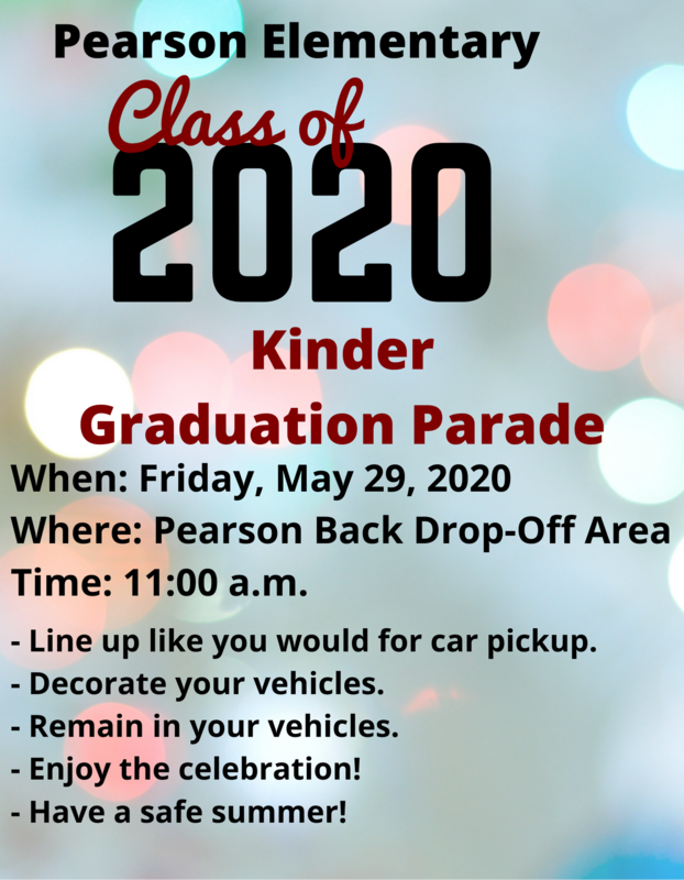 Kinder Graduation Parade - Click Here for More Information Featured Photo