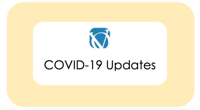Updates related to COVID-19 Featured Photo