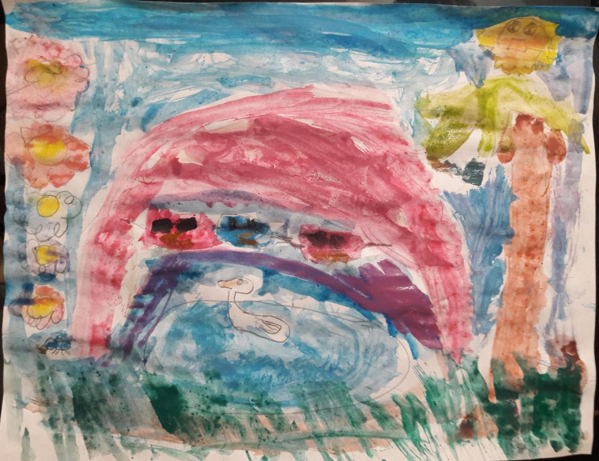 Art by Ranch Hills Student  - PreK - 2nd