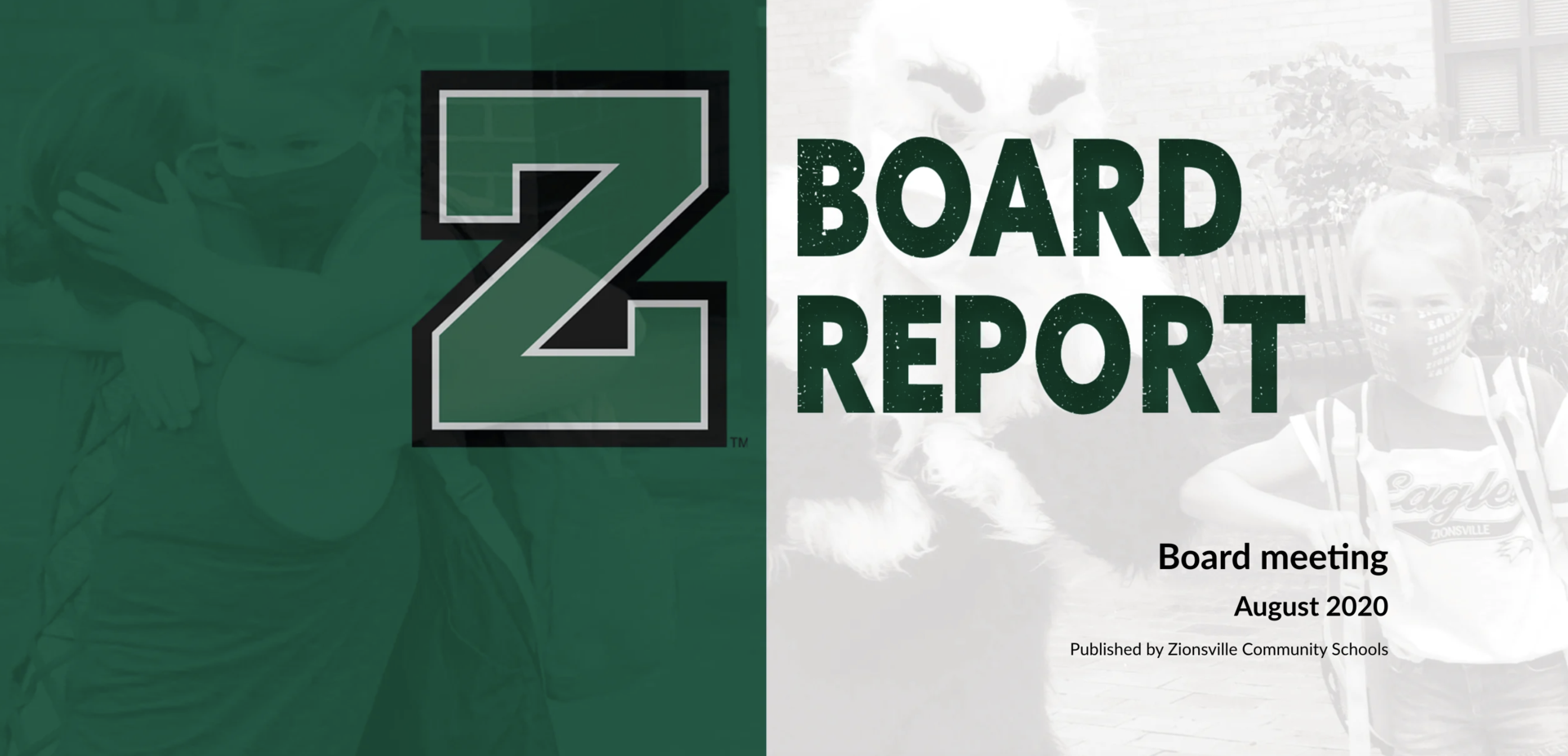 August Board Meeting Cover