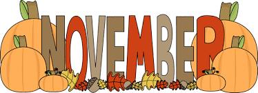 November Happenings Thumbnail Image