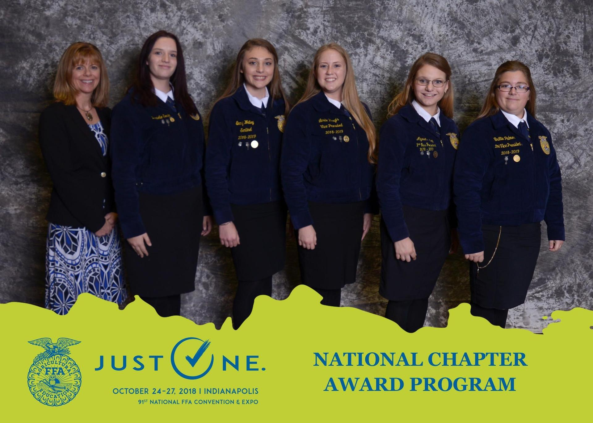 3-Star Gold National Chapter Award