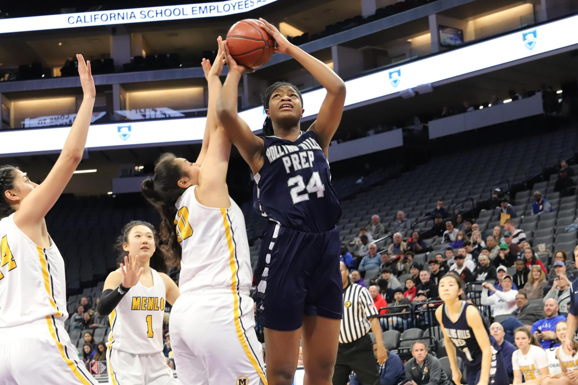 Varsity Girls' Basketball at the CIF State Finals