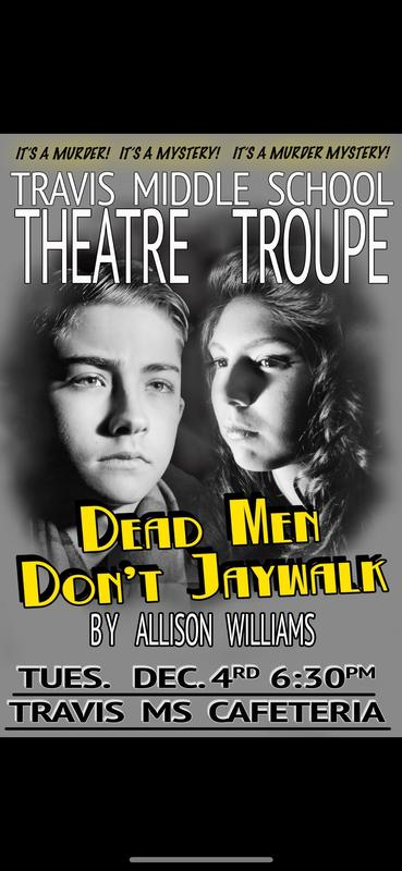 Theatre Troupe flyer