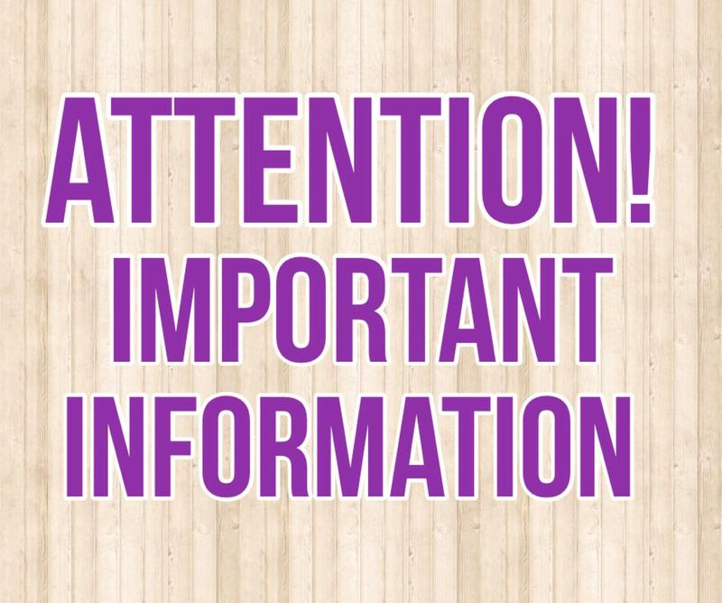 Icon for Attention Important Information