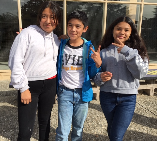 7th grade AVID students prepare for a field trip to Monterey Peninsula College