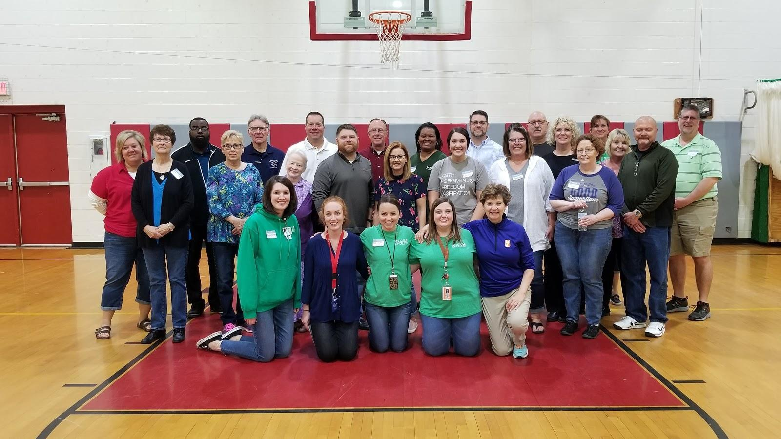 Preble County Success group photo with community volunteers