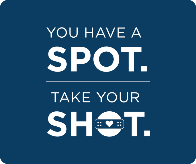You have a spot. Take your shot.