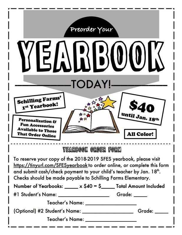 Now Accepting Yearbook Orders Until Jan. 18th! Featured Photo