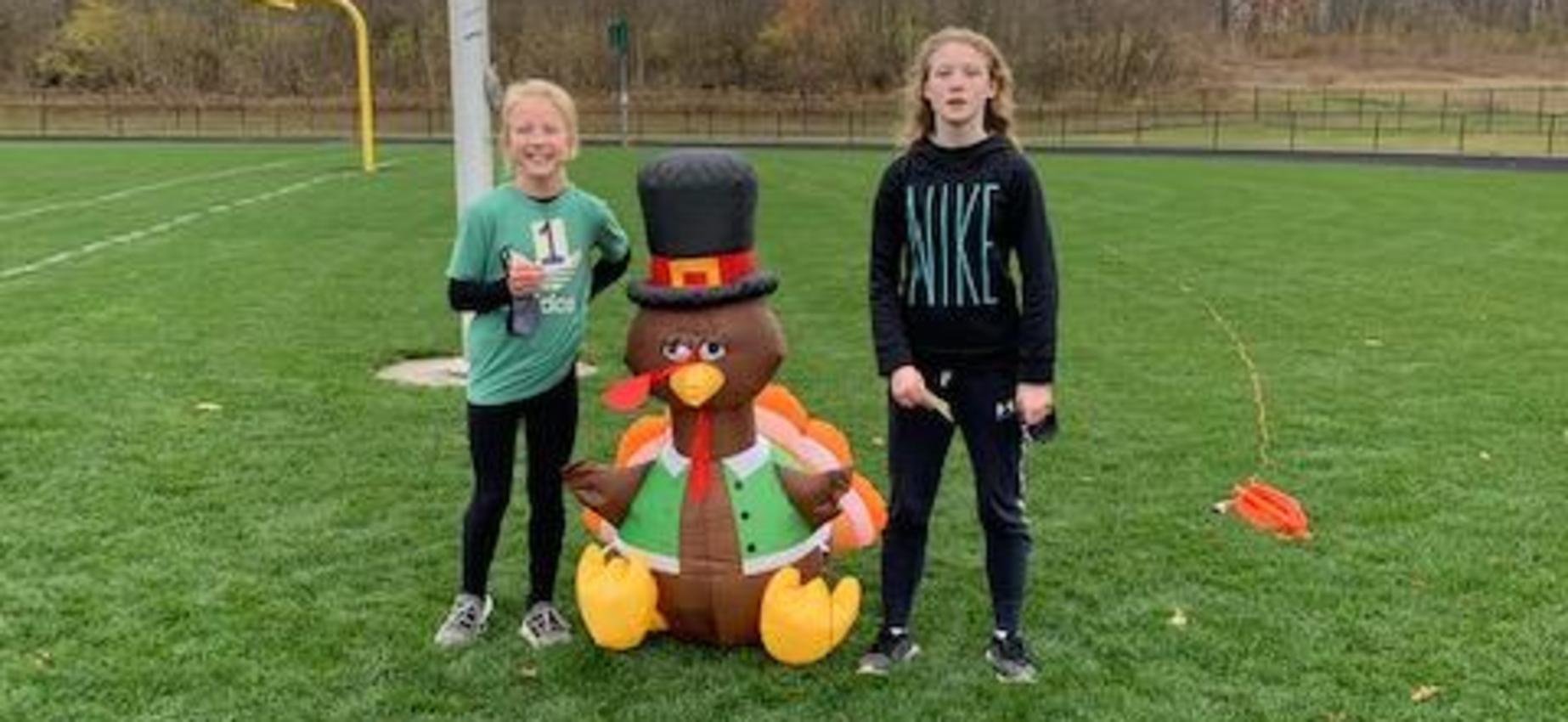 8th Grade Turkey Trot Winners