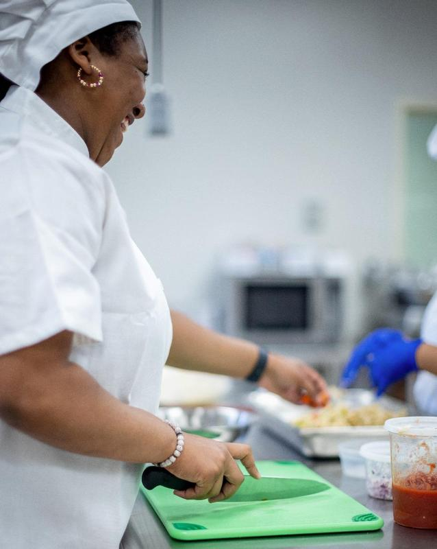 GICCA culinary arts student.