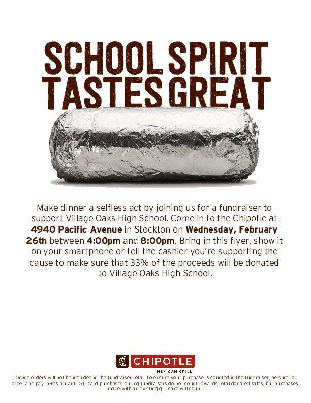 Chipotle Fundraiser Featured Photo