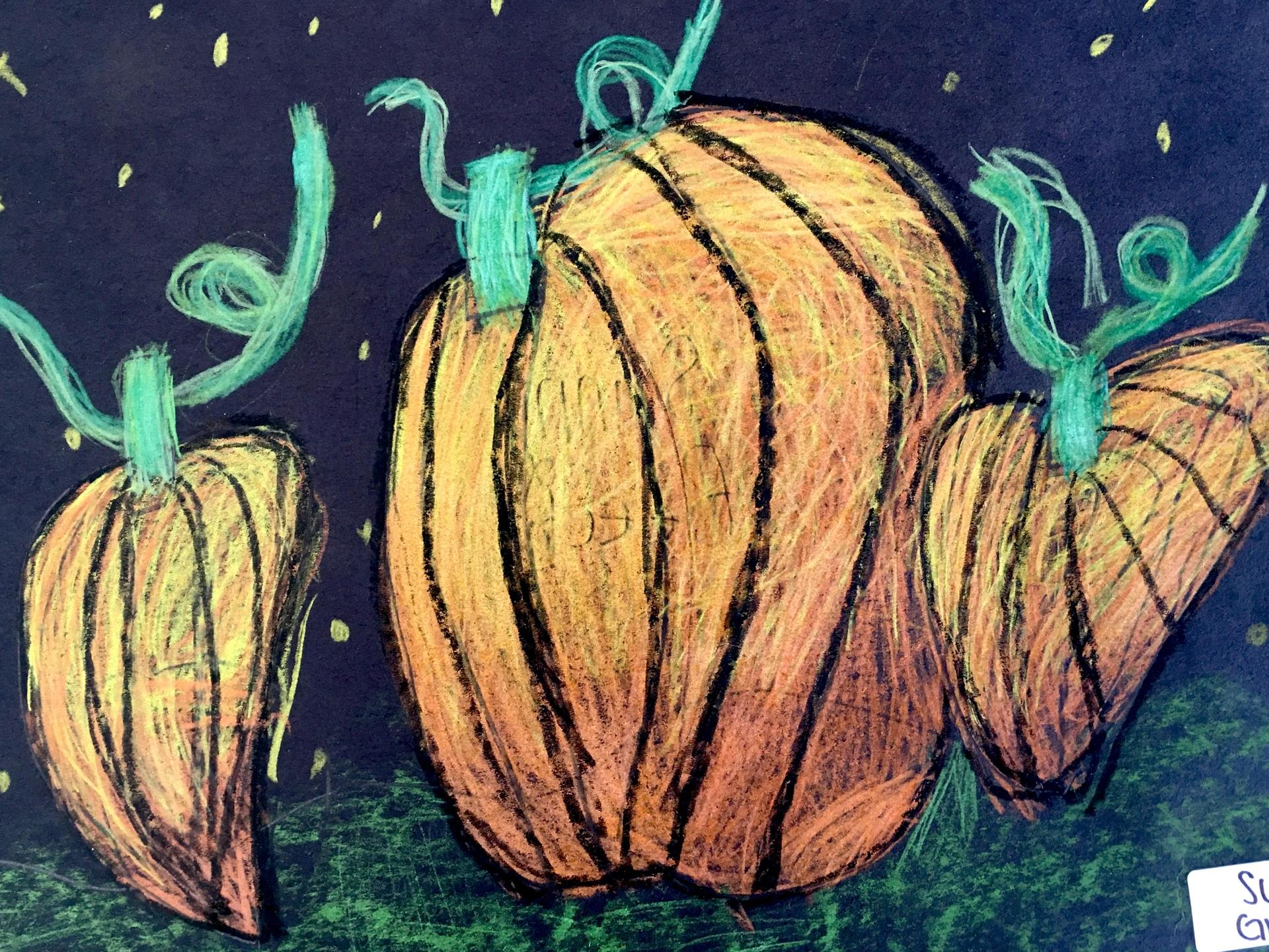 pumpkin drawing 3