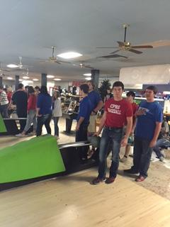 Student bowlers