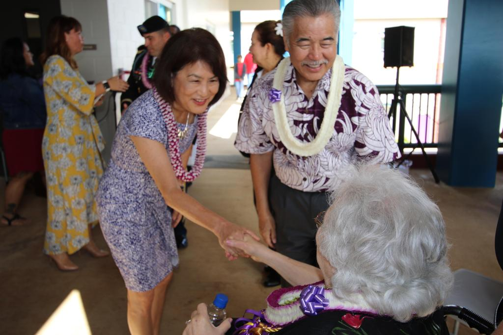 Governor and Mrs. Ige