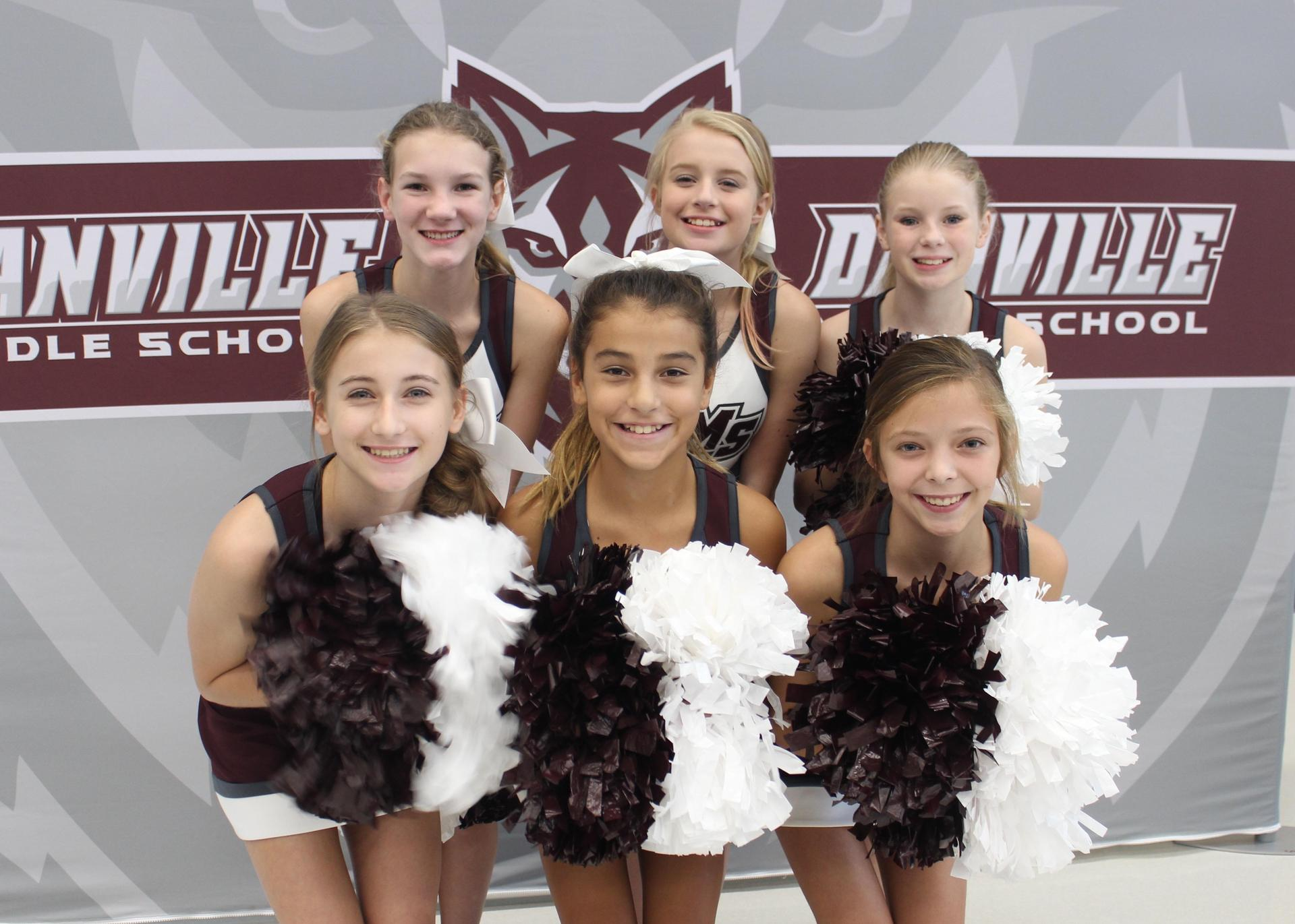 DMS cheerleaders