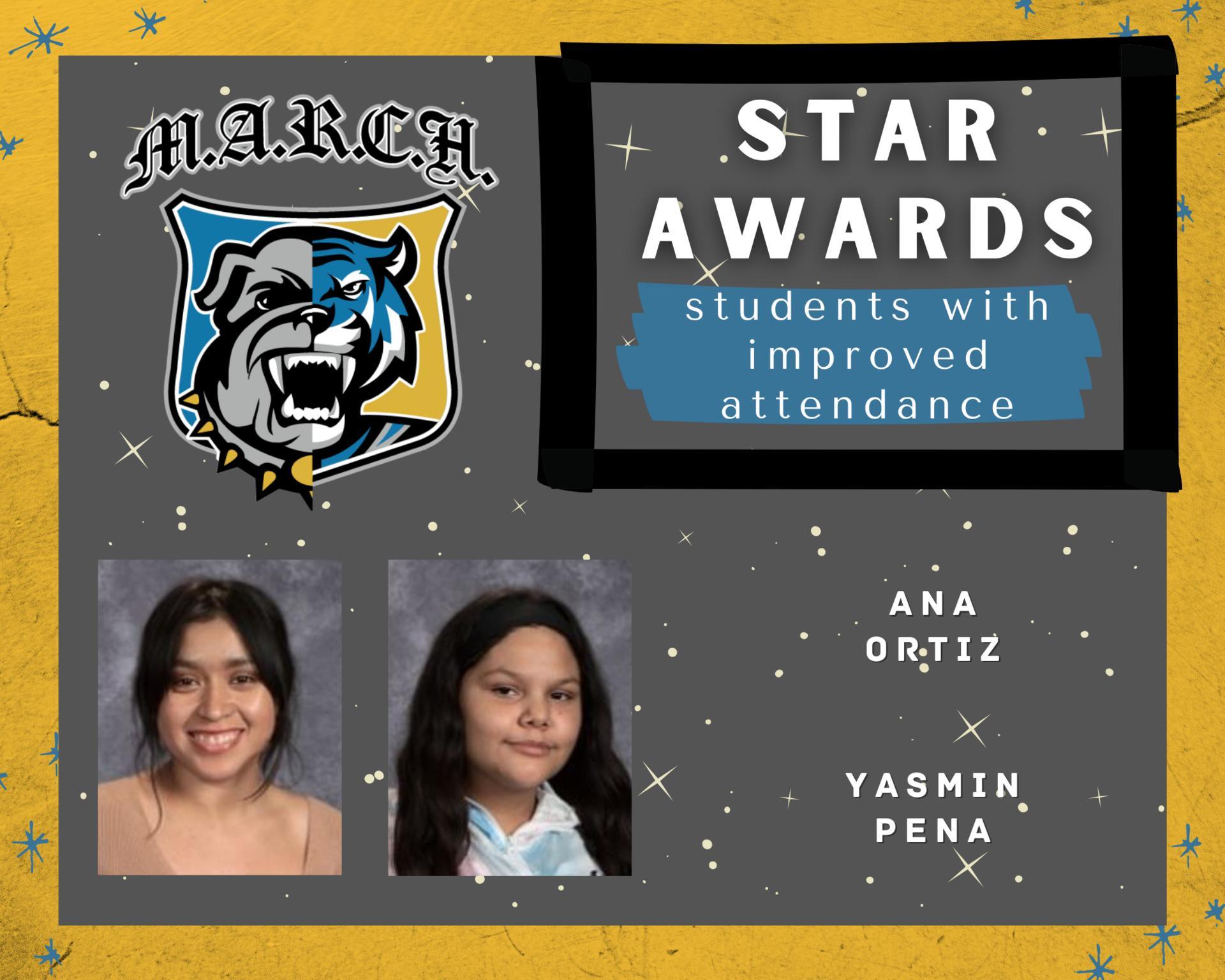 Team MARCH: STAR Awards-Week 2