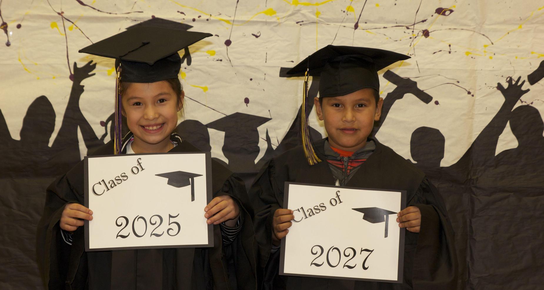 elementary students future graduates