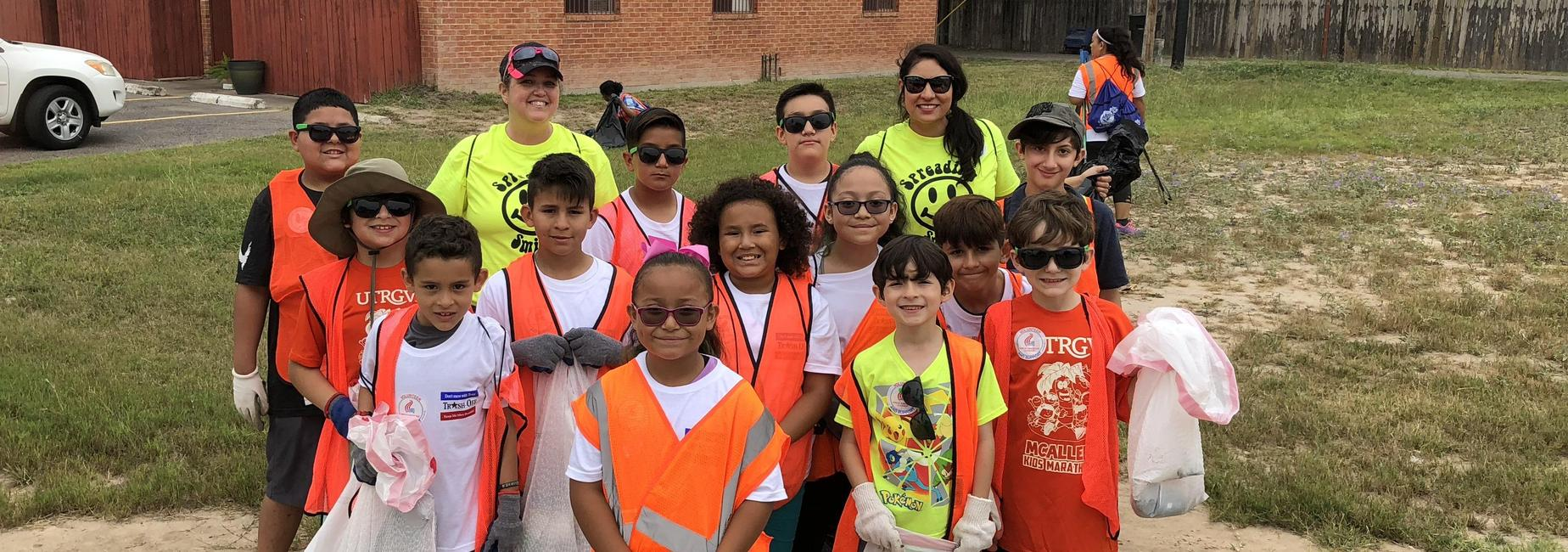 Spreading Smiles at the Great American Clean-up