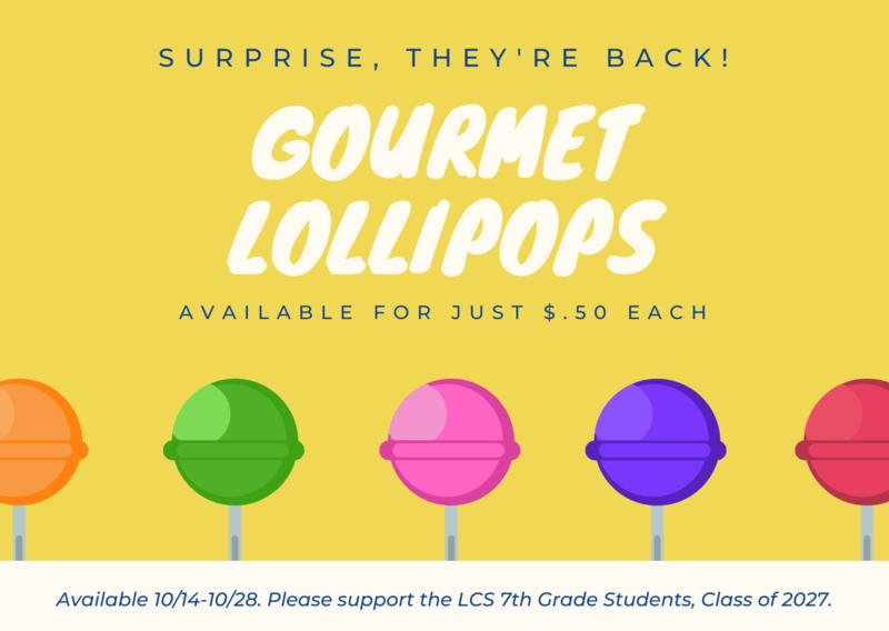 lollipops fundraiser
